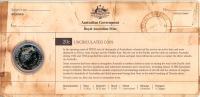 Image 3 for 2012 Three Coin UNC Set 20c & 50c - Shores Under Siege Australia WWII