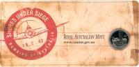 Image 2 for 2012 Three Coin UNC Set 20c & 50c - Shores Under Siege Australia WWII