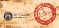 Image 4 for 2012 Three Coin UNC Set 20c & 50c - Shores Under Siege Australia WWII