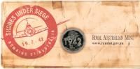 Image 5 for 2012 Three Coin UNC Set 20c & 50c - Shores Under Siege Australia WWII