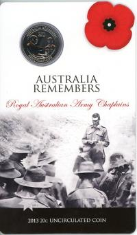 Image 1 for 2013 Australia Remembers - Royal Australian Army Chaplains