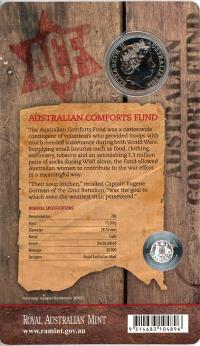 Image 2 for 2014 Twenty Cent Uncirculated Coin - Australia Remembers Australia's Comfort Fund