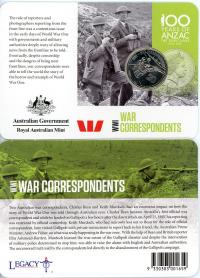 Image 1 for 2015 Anzacs Remembered - War Correspondents