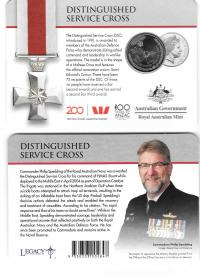 Image 1 for 2017 Legends of the ANZACS - Distinguished Service Cross