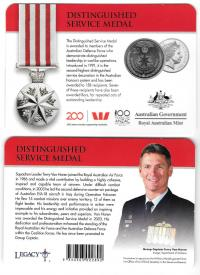 Image 1 for 2017 Legends of the ANZACS - Distinguished Service Medal