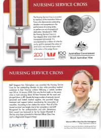 Image 1 for 2017 Legends of the ANZACS - Nursing Service Cross