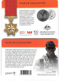 Image 1 for 2017 Legends of the ANZACS - Star of Gallantry