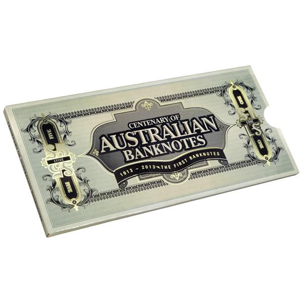 Thumbnail for 2013 Three Coin UNC Set 20c & 50c - Centenary of Australian Banknotes