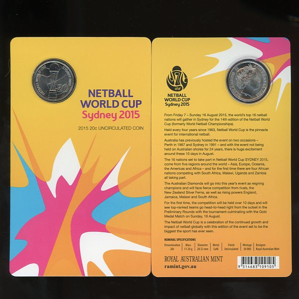 Thumbnail for 2015 Netball World Cup Sydney