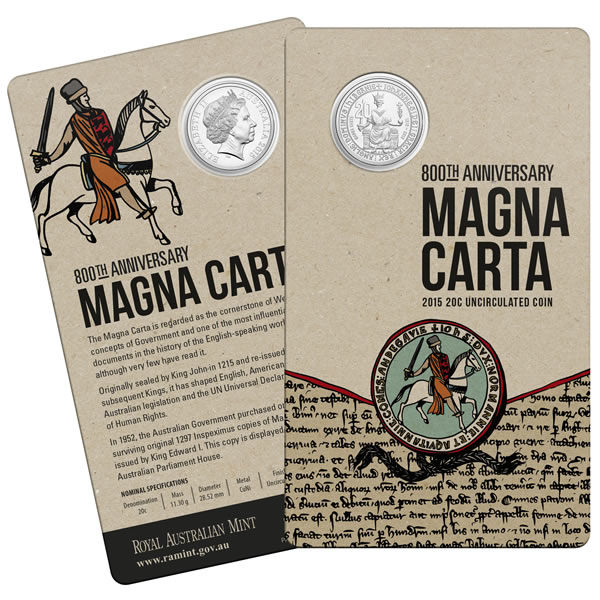 Thumbnail for 2015 800th Anniversary of the Magna Carta