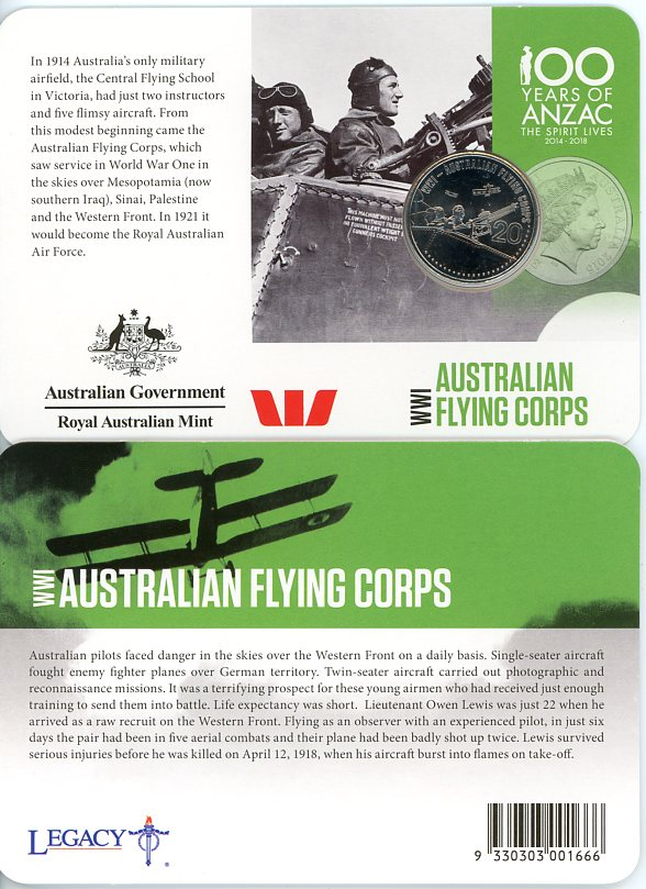 Thumbnail for 2015 Anzacs Remembered - Australian Flying Corps