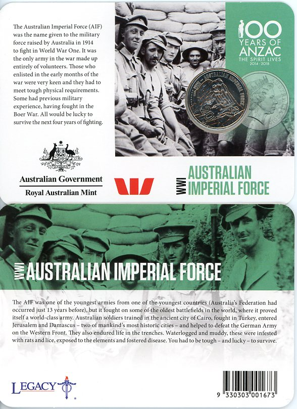 Thumbnail for 2015 Anzacs Remembered - Australian Imperial Force