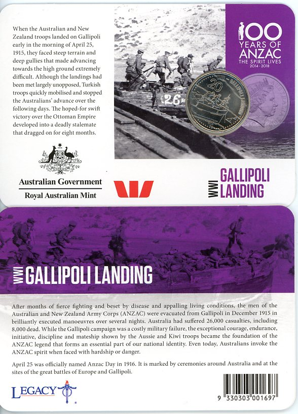 Thumbnail for 2015 Anzacs Remembered - Gallipoli Landing