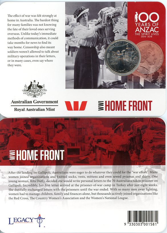 Thumbnail for 2015 Anzacs Remembered - Home Front