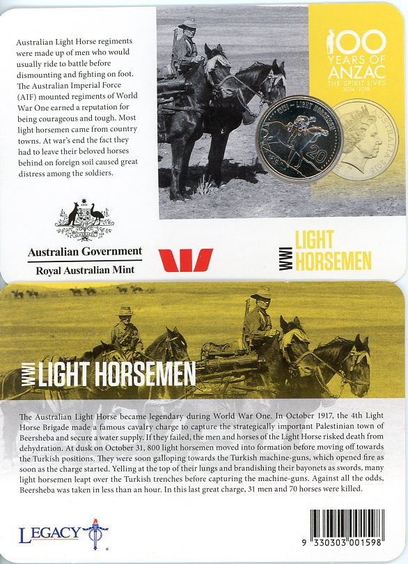 Thumbnail for 2015 Anzacs Remembered - Light Horsemen