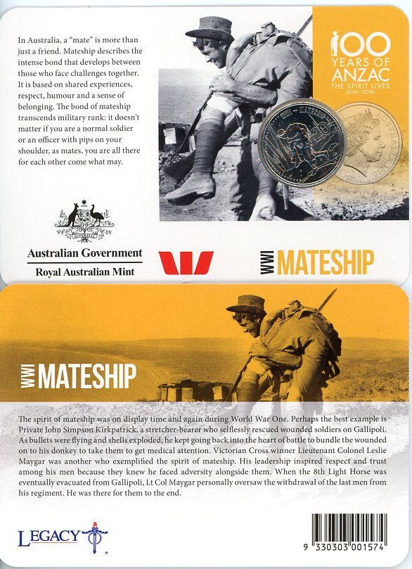 Thumbnail for 2015 Anzacs Remembered - Mateship