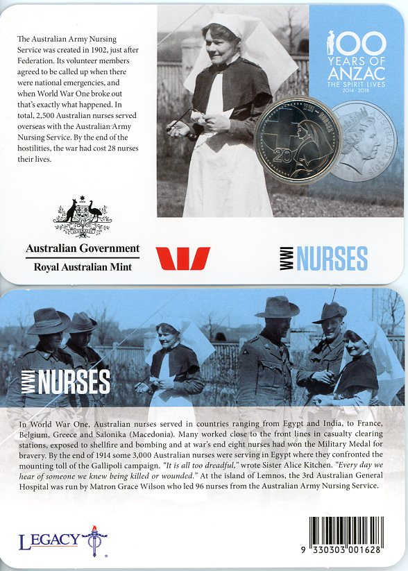 Thumbnail for 2015 Anzacs Remembered - WWI Nurses