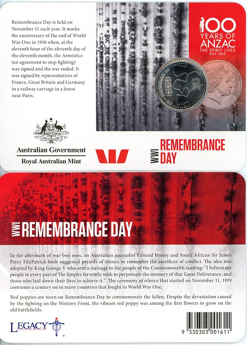 Thumbnail for 2015 Anzacs Remembered - Remembrance Day