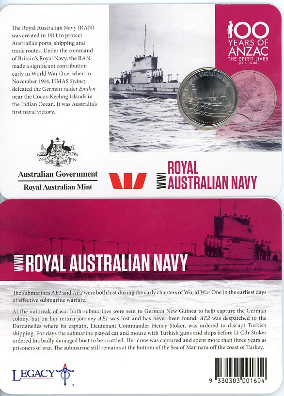 Thumbnail for 2015 Anzacs Remembered - Royal Australian Navy