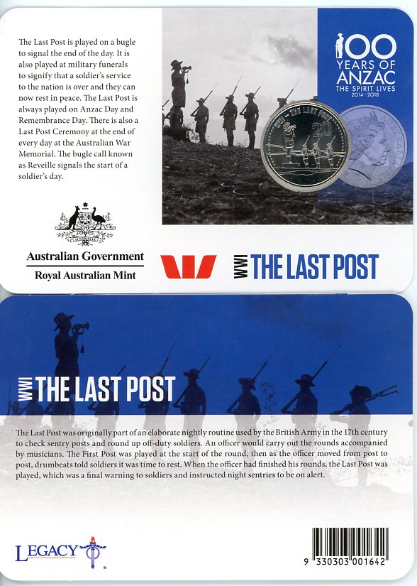 Thumbnail for 2015 Anzacs Remembered - The Last Post