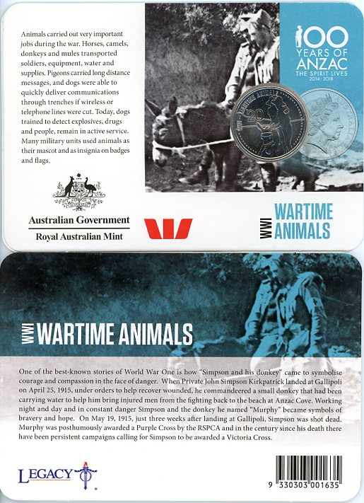 Thumbnail for 2015 Anzacs Remembered - WWI Wartime Animals