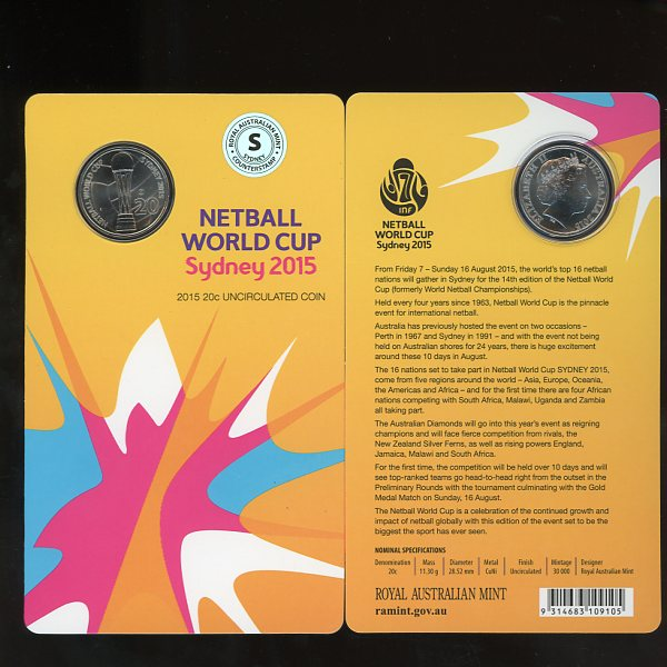 Thumbnail for 2015 Netball World Cup Sydney -