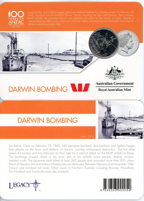 Thumbnail for 2016 Anzac to Afghanistan - Darwin Bombing