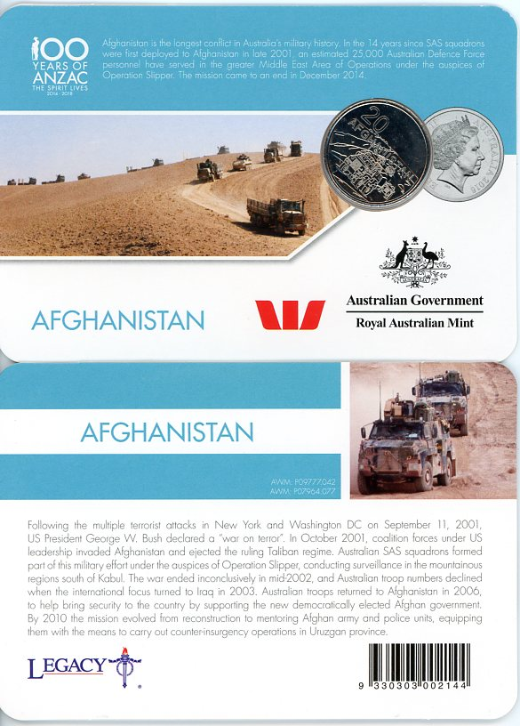 Thumbnail for 2016 Anzac to Afghanistan - Afghanistan