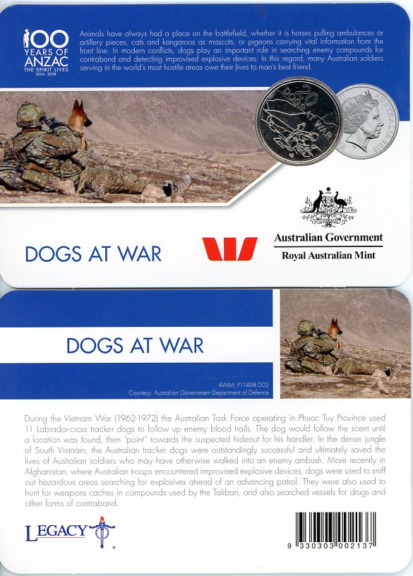 Thumbnail for 2016 Anzac to Afghanistan - Dogs at War