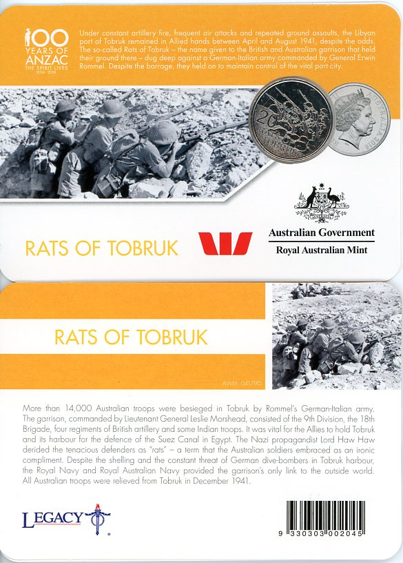 Thumbnail for 2016 Anzac to Afghanistan - Rats of Tobruk