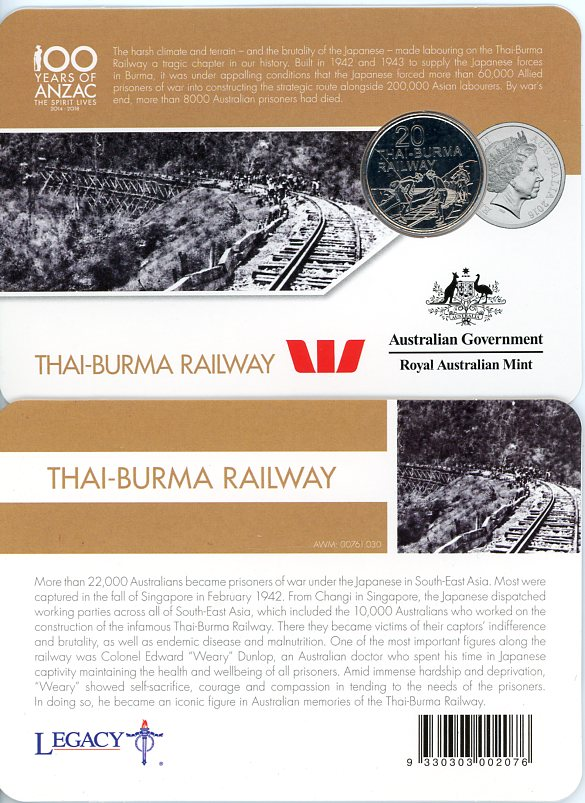 Thumbnail for 2016 Anzac to Afghanistan - Thai-Burma Railway