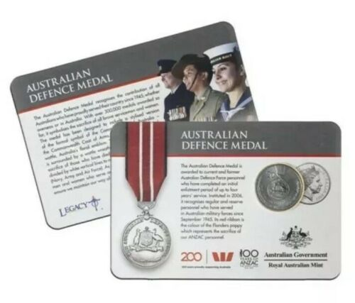 Thumbnail for 2017 Legends of the ANZACS - Australian Defence Medal