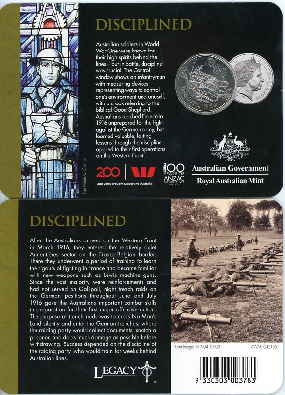 Thumbnail for 2018 Anzac Spirit - Disciplined