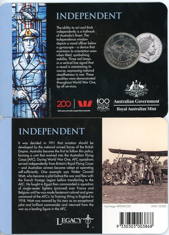 Thumbnail for 2018 Anzac Spirit - Independant