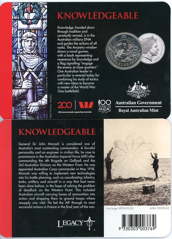 Thumbnail for 2018 Anzac Spirit - Knowledgeable