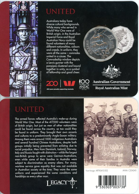 Thumbnail for 2018 Anzac Spirit - United