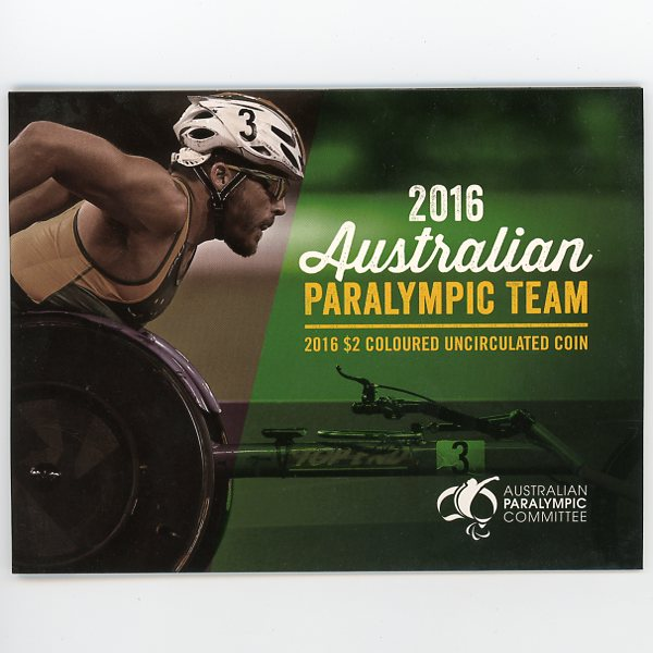 Thumbnail for 2016 Australian Paralympic Team