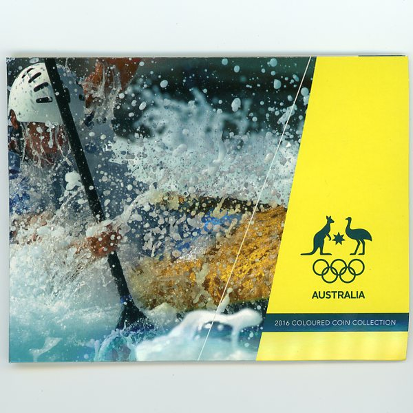 Thumbnail for 2016 Olympic Games 5 Coin Set Kayaking Cover