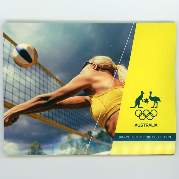Thumbnail for 2016 Olympic Games 5 Coin Set Volleyball Cover