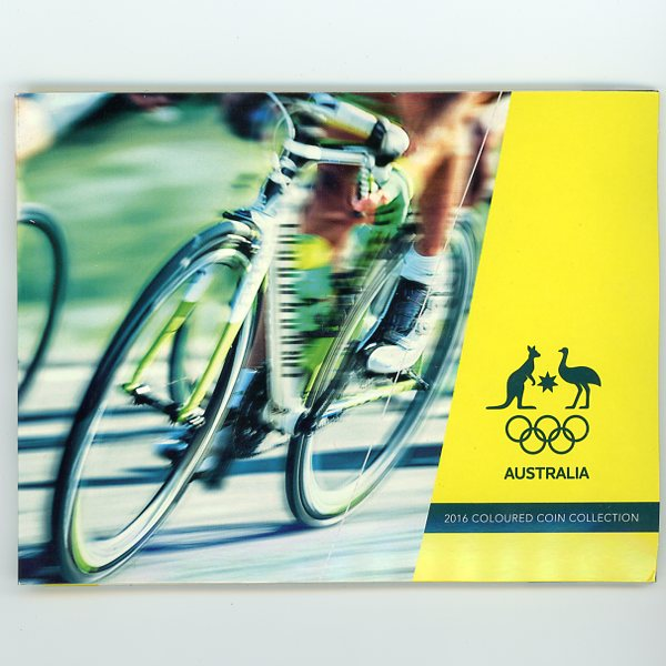 Thumbnail for 2016 Olympic Games 5 Coin Set Cycling Cover