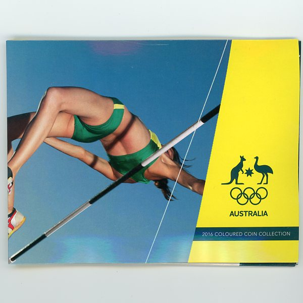 Thumbnail for 2016 Olympic Games 5 Coin Set High Jump Cover