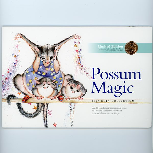 Thumbnail for 2017 Possum Magic Eight Coin Set